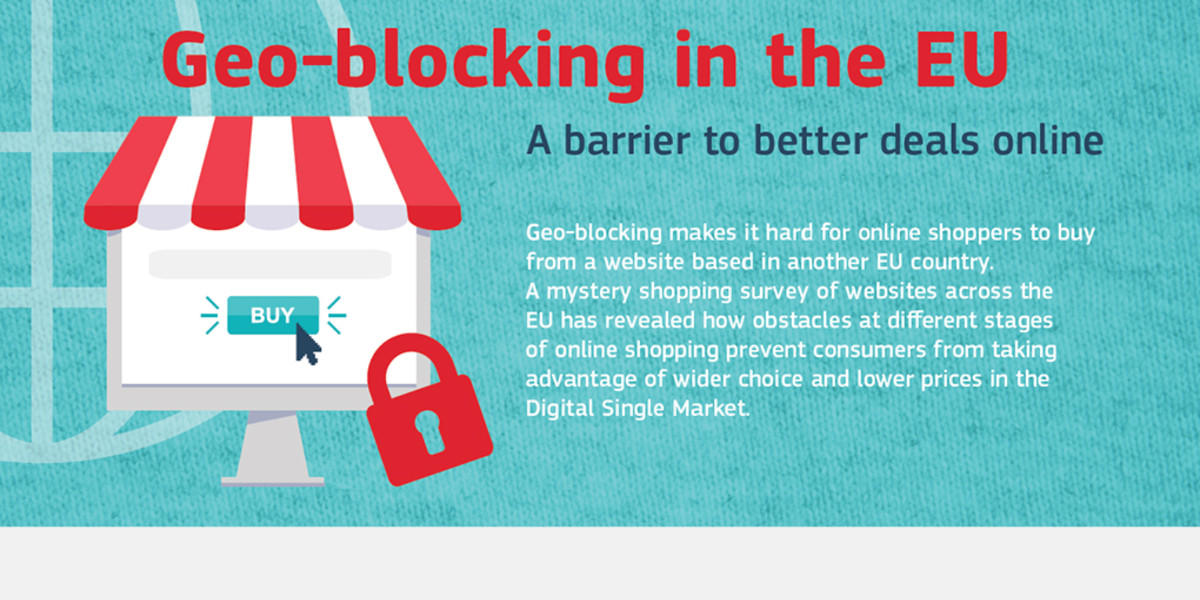 Addio al geo-blocking, lo shopping online diventa libero