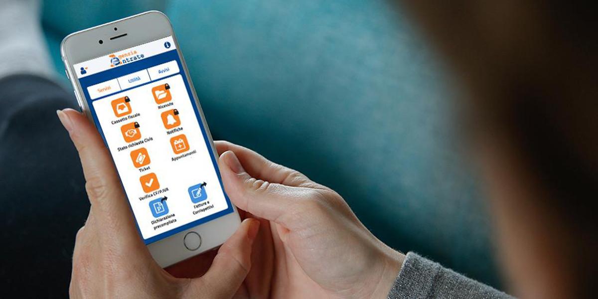 L'Agenzia delle Entrate rinnova la propria mobile app