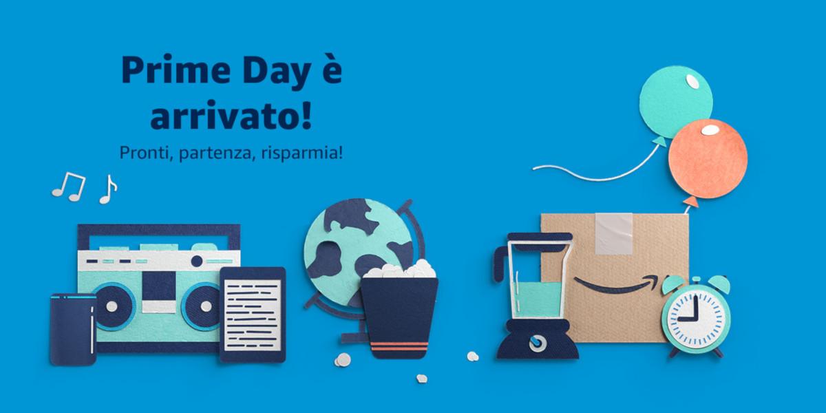 Amazon Prime Day, è l'ora delle offerte speciali di Amazon