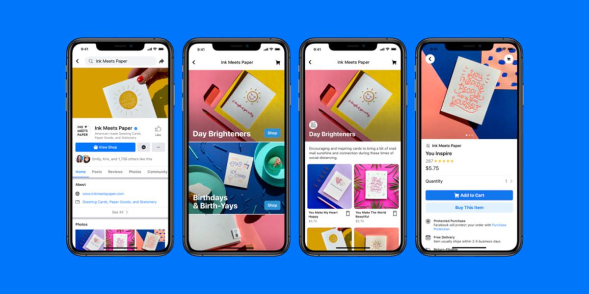 Arriva Facebook Shops, la piattaforma e-commerce di Facebook