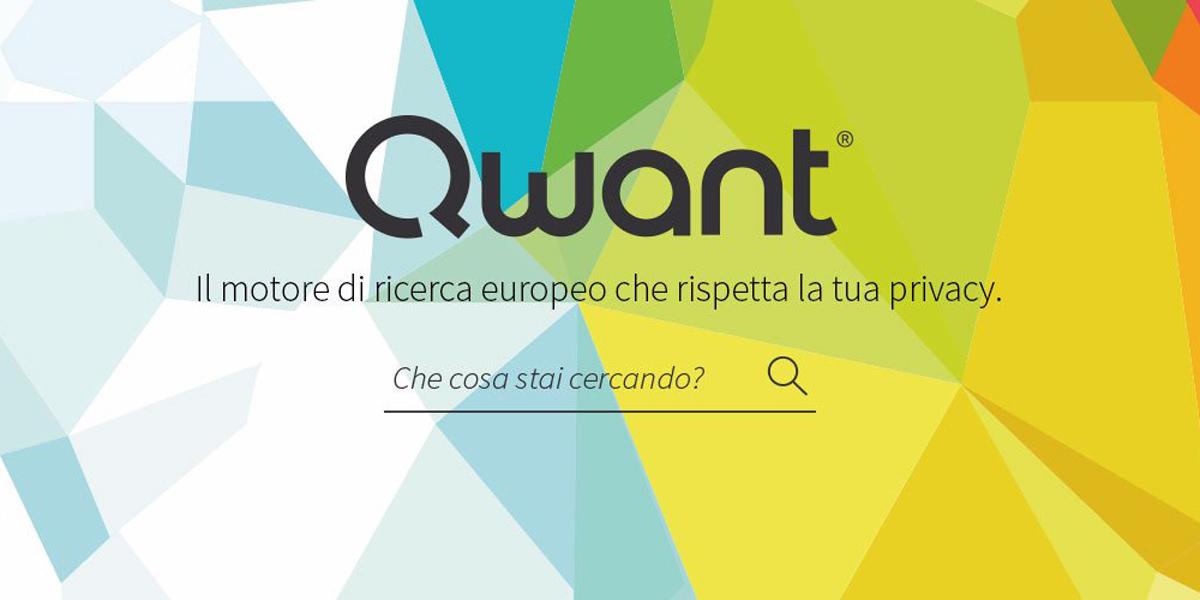 Arriva in Italia Qwant, il motore di ricerca che tutela la privacy