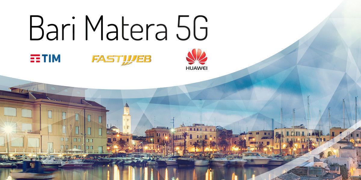 BariMatera5G, al via i primi servizi in 5G