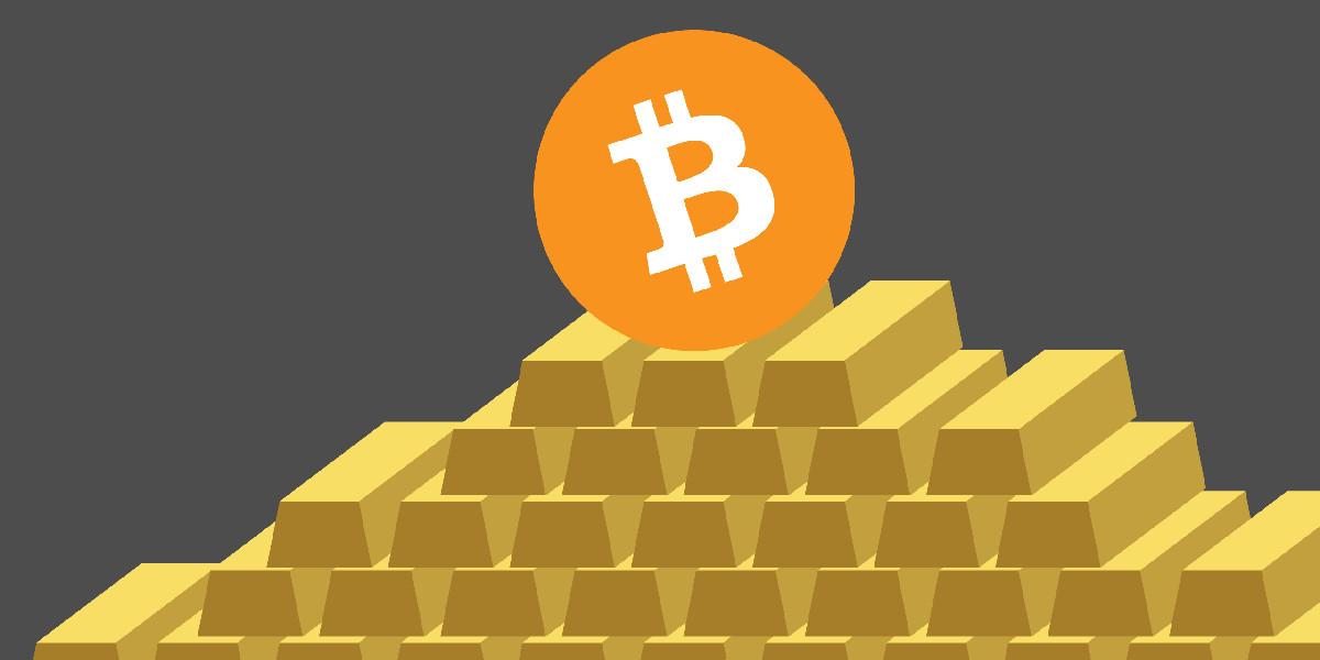 Bitcoin, superato il valore dell'oro