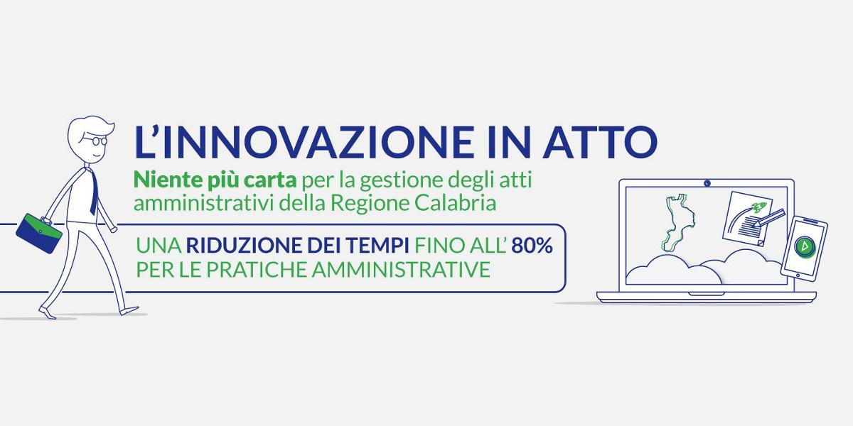 In Calabria la gestione degli atti amministrativi diventa digitale