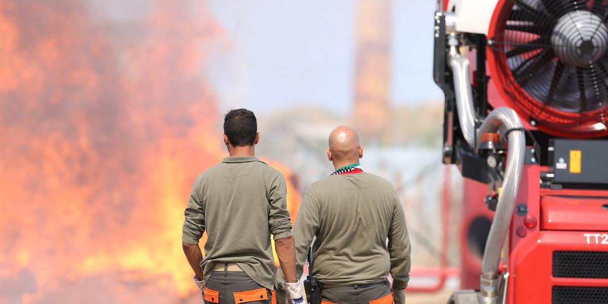 In Calabria e Sardegna arriva una turbina innovativa per combattere gli incendi