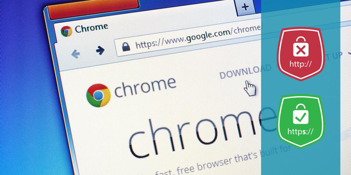 Chrome forza la navigazione online all'adozione del protocollo HTTPS
