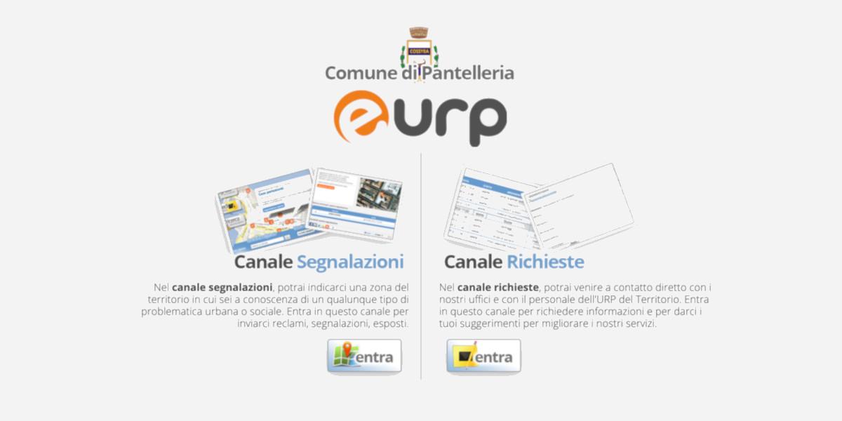 Il Comune di Pantelleria attiva l'URP digitale