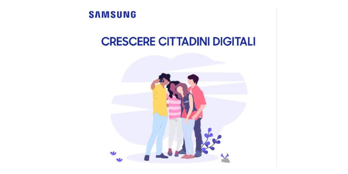 Crescere Cittadini Digitali, al via il progetto di Samsung dedicato all'educazione civica digitale