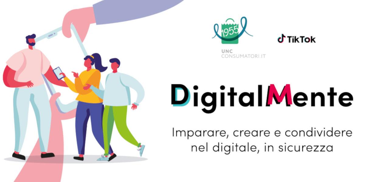 DigitalMente, UNC e TikTok insieme per la sicurezza e il benessere digitale nelle scuole