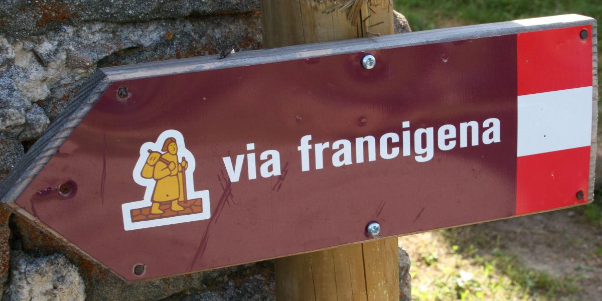 Disponibile la guida digitale della Via Francigena