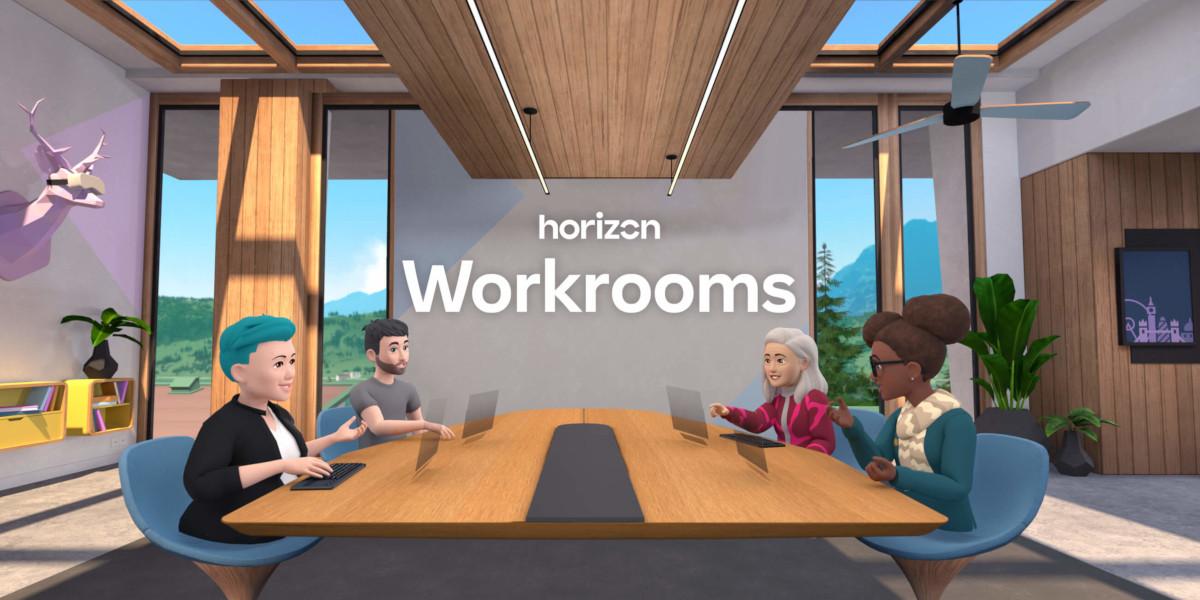 Facebook lancia Workrooms