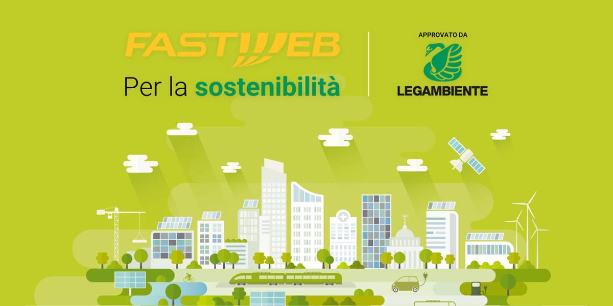 Fastweb e Legambiente insieme per la sostenibilità
