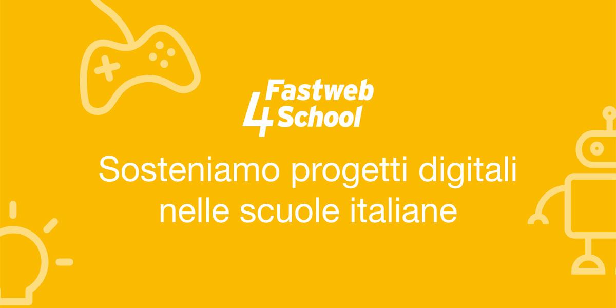 Fastweb4School, Fastweb e il MIUR insieme per la scuola digitale