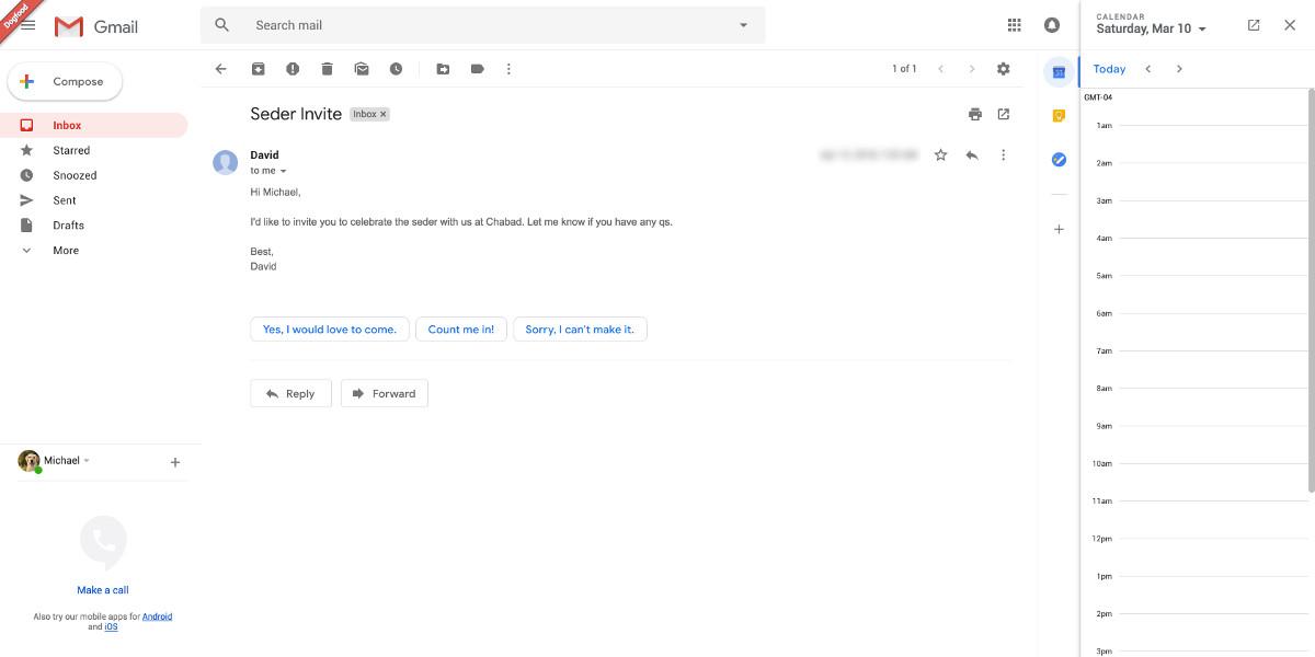 Gmail si rinnova e ridisegna la versione web