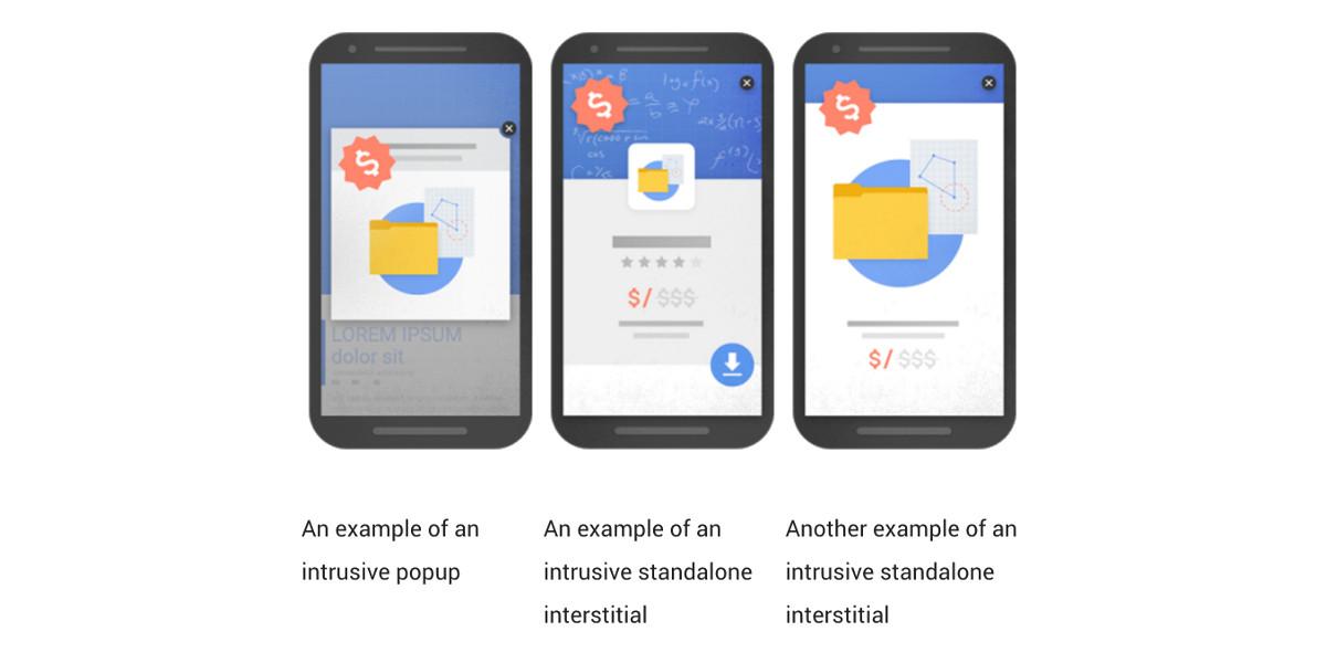 Google contro la pubblicità intrusiva