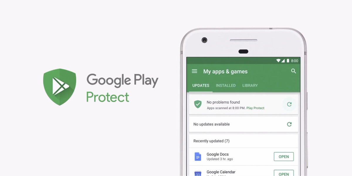Google lancia Play Protect