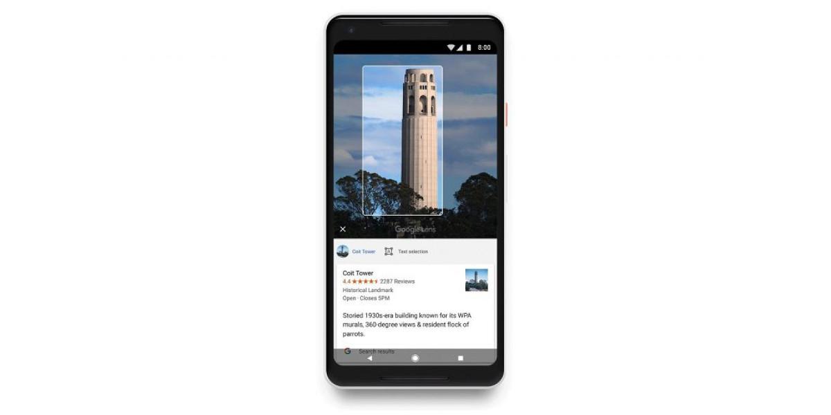 Google Lens disponibile per tutti