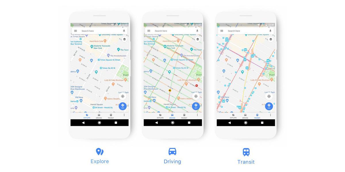 Google Maps migliora l'esperienza utente