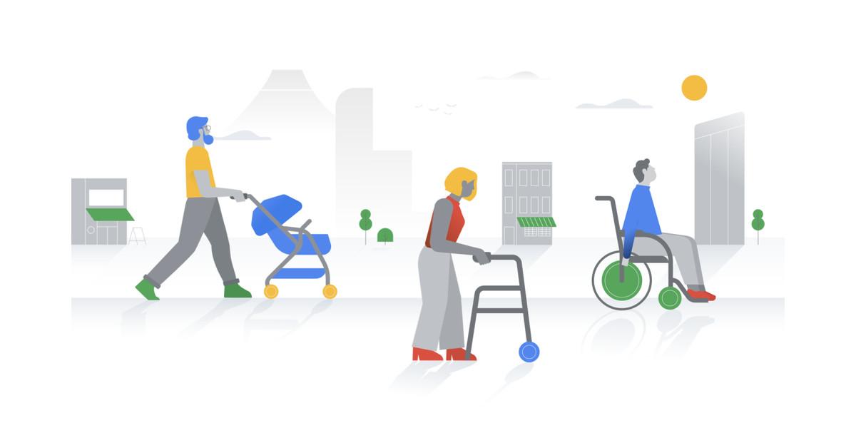 Google Maps segnala i luoghi accessibili