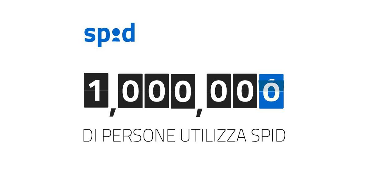 Le identità digitali SPID raggiungono quota un milione