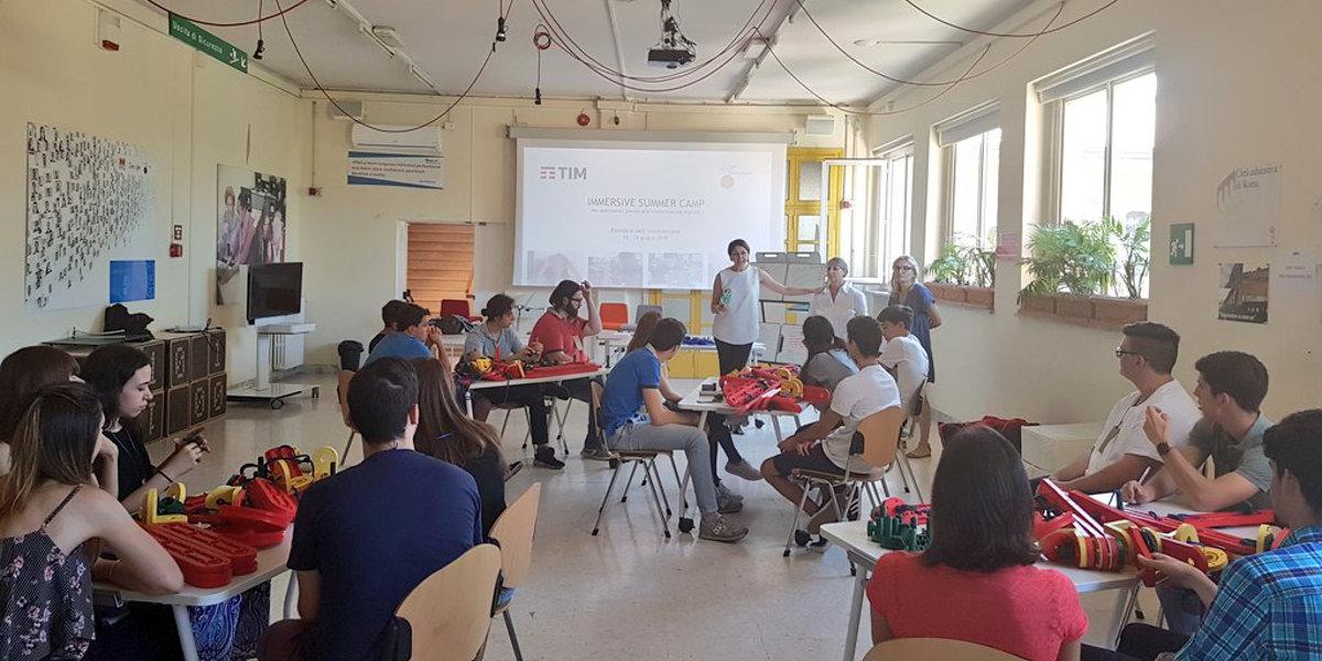 Immersive Summer Camp, al via il percorso di orientamento di TIM e Fondazione Mondo Digitale