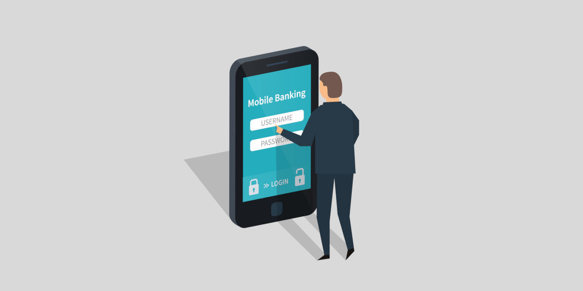 In crescita l'uso del mobile banking