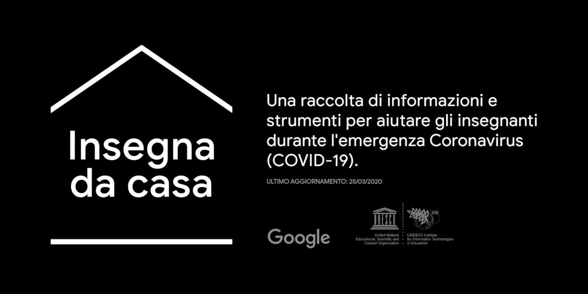 Insegna da casa, la nuova piattaforma di Google per la didattica a distanza