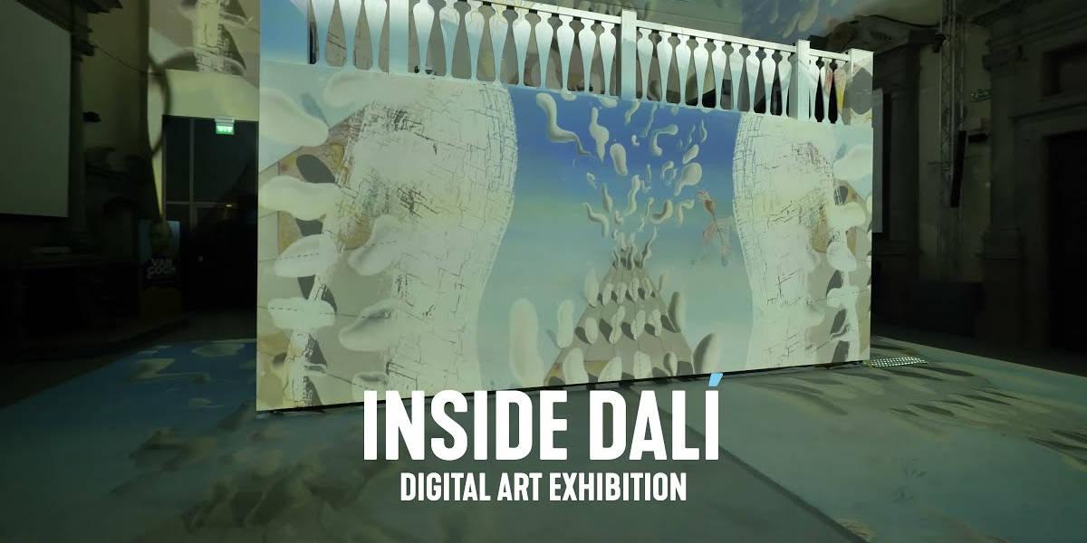Inside Dalí, a Firenze prende il via la mostra digitale immersiva