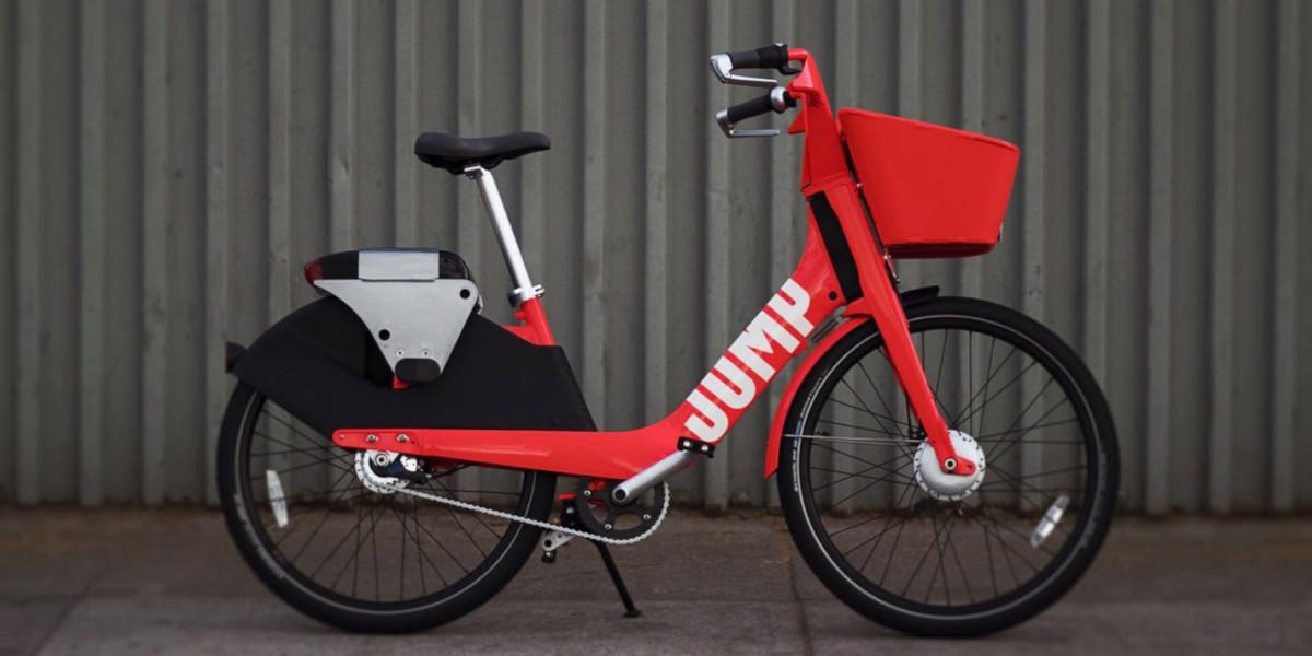 JUMP, a Roma arriva il bike sharing elettrico di Uber