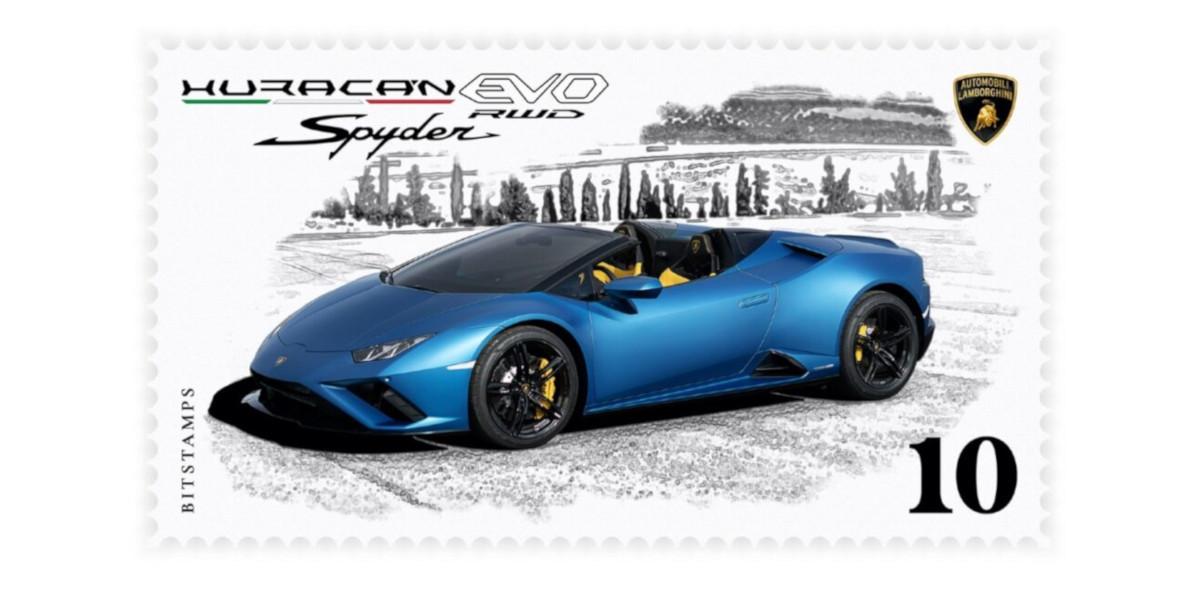 Lamborghini lancia il suo primo francobollo digitale