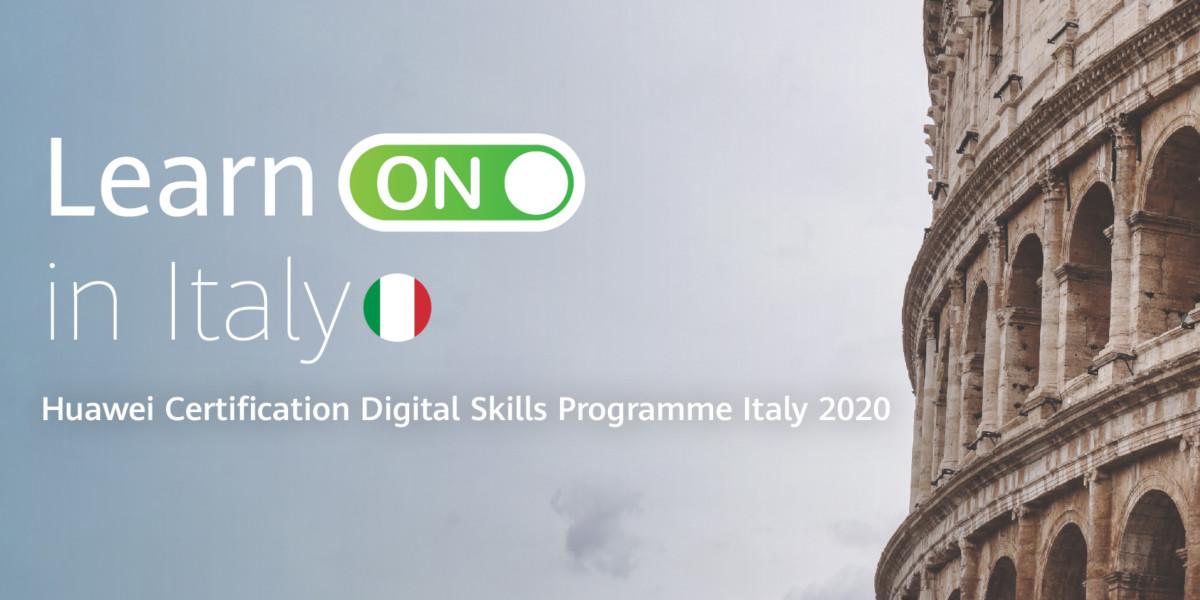 Learn ON in Italy, Huawei lancia un nuovo programma gratuito di formazione digitale