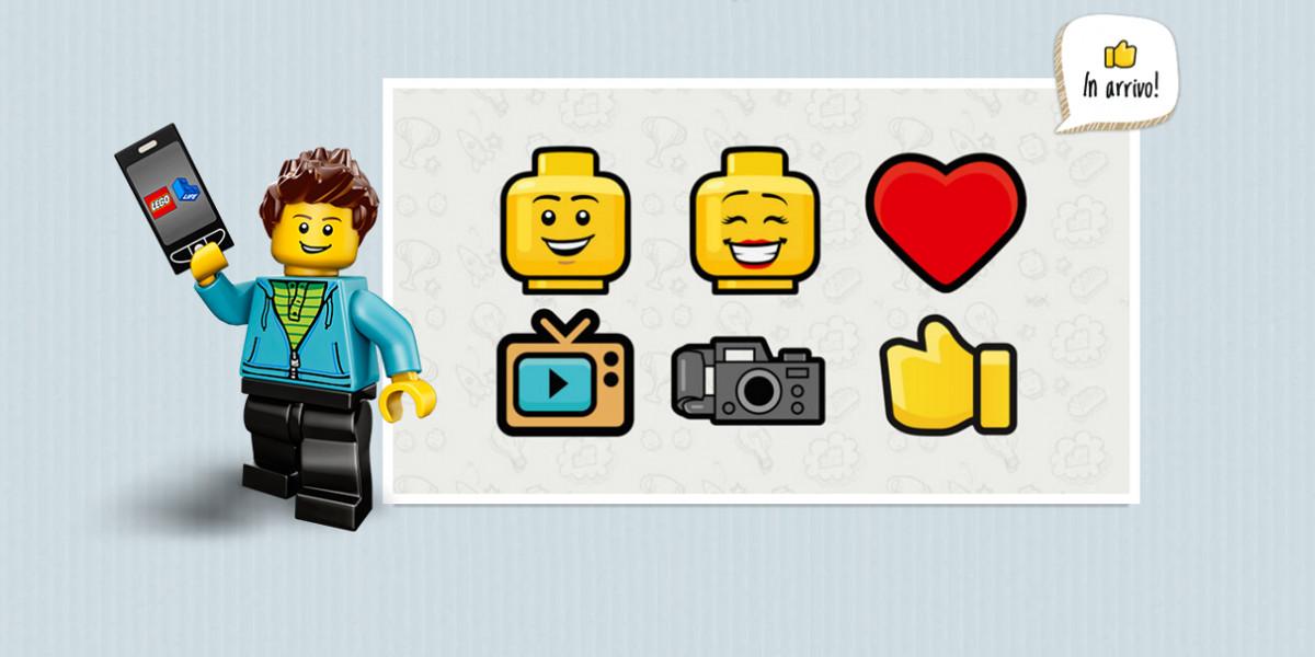 LEGO Life, arriva in Italia il social per bambini