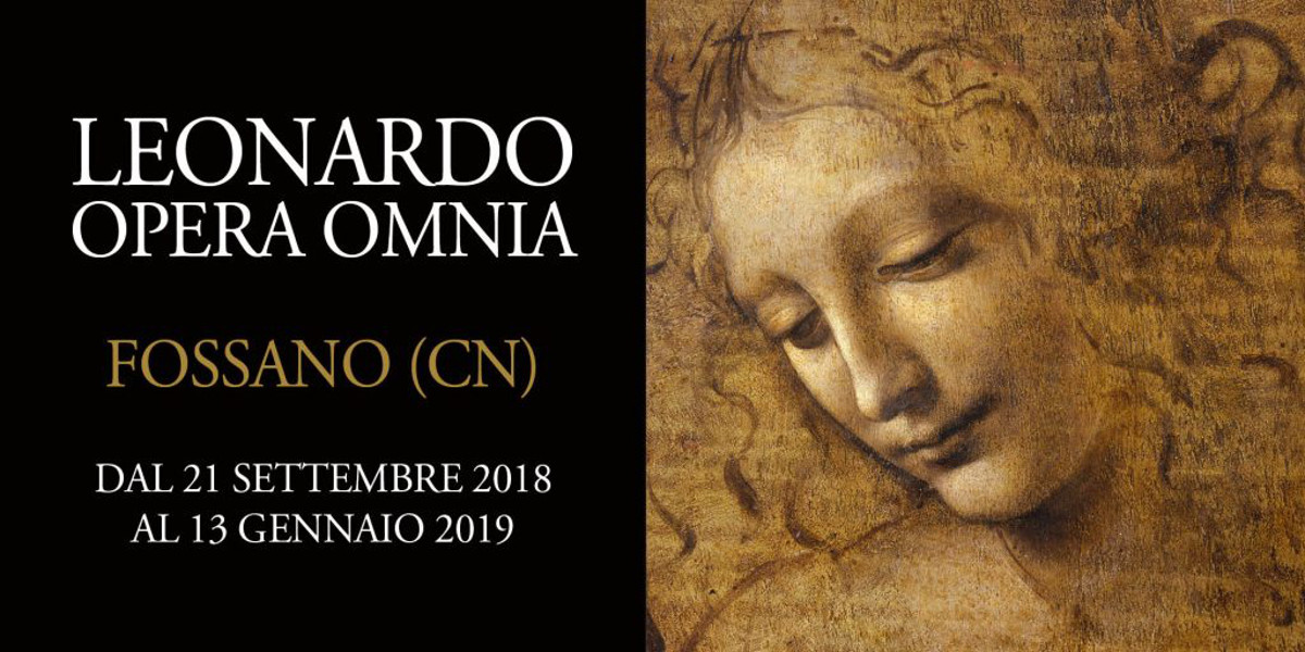 Leonardo Opera Omnia, al via a Fossano la mostra digitale