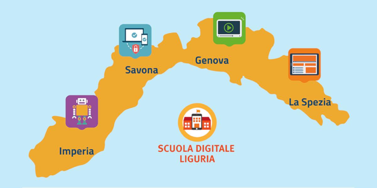 Liguria Digitale attiva un team a supporto della didattica a distanza