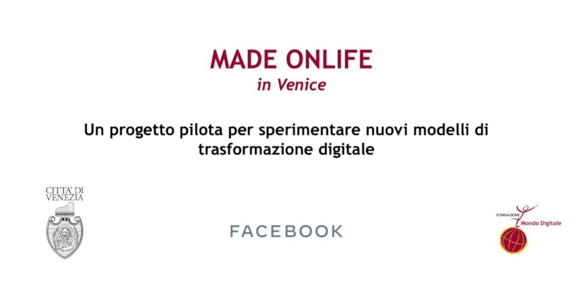 Made Onlife in Venice, il progetto per la trasformazione digitale delle PMI veneziane