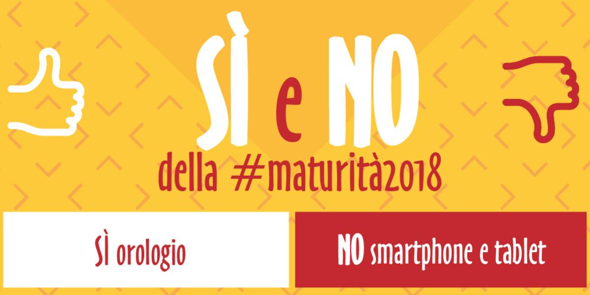 Maturità, stop a tablet e smartphone