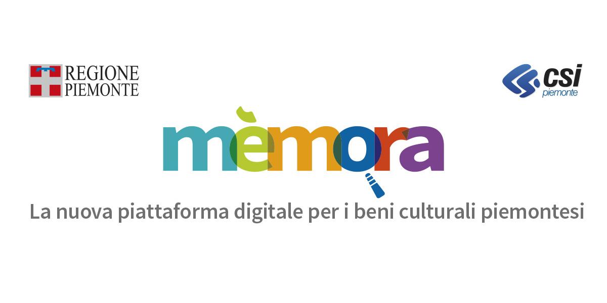 Mèmora, la Regione Piemonte digitalizza la cultura
