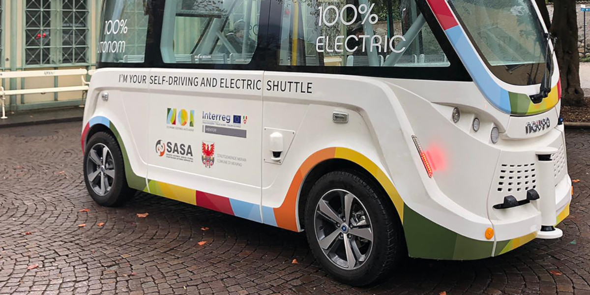 Merano sperimenta il bus a guida autonoma
