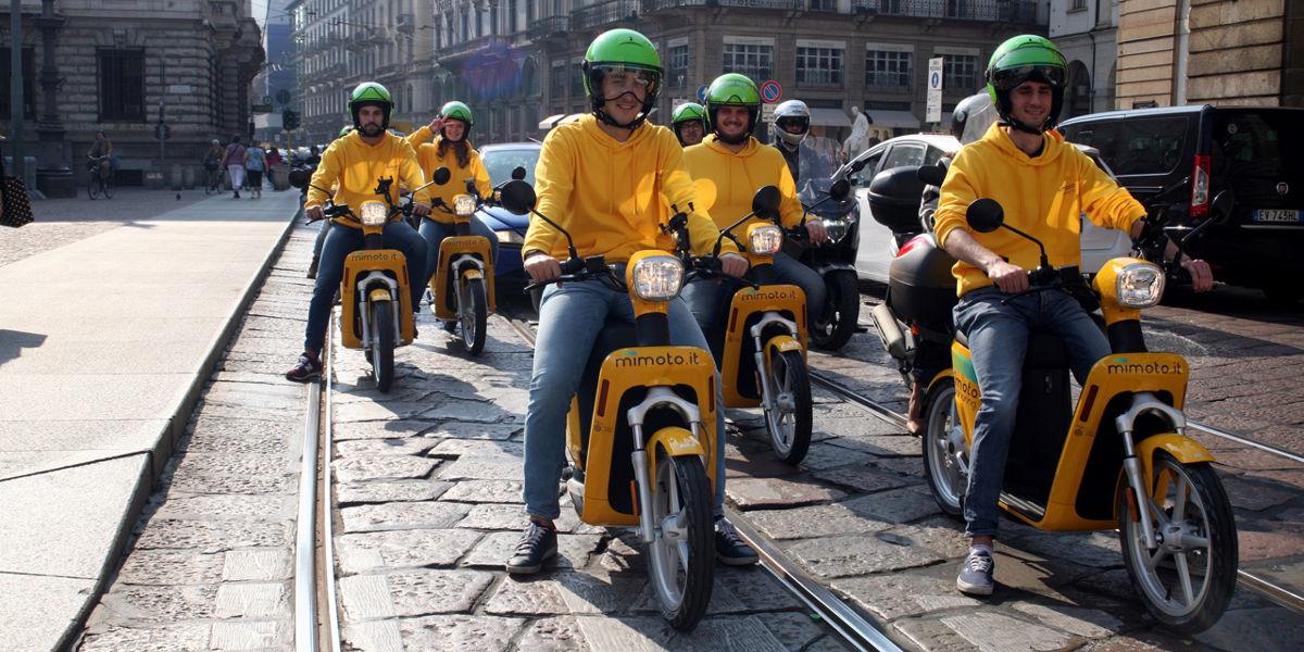 A Milano parte MiMoto, il servizio di scooter sharing elettrico