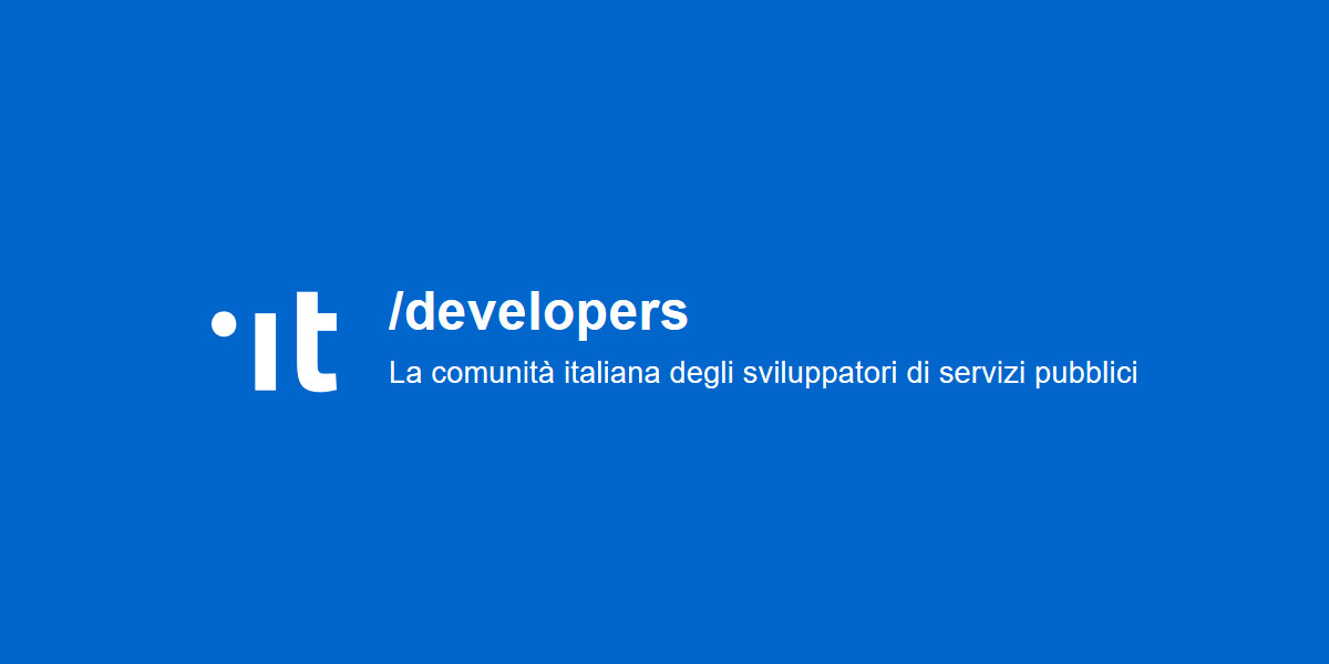 Nasce la comunità italiana di sviluppatori dei servizi pubblici digitali