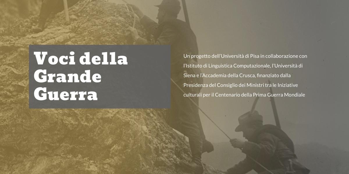Nasce il primo archivio digitale dedicato alle voci della Grande Guerra