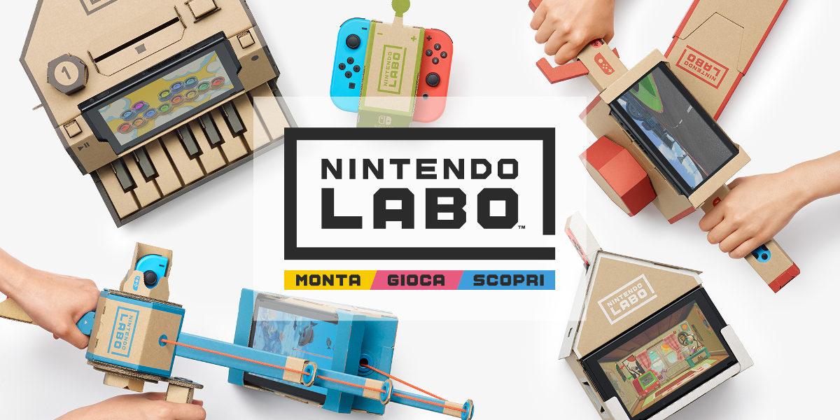 Nintendo Labo disponibile in Italia