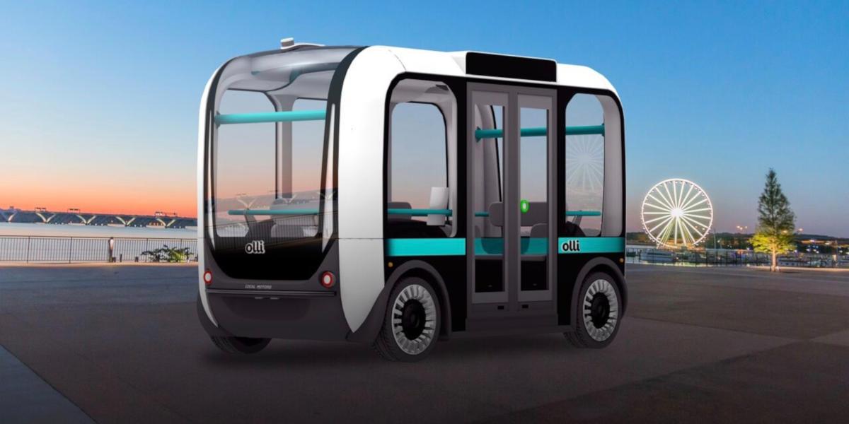 Olli, il minibus elettrico a guida autonoma si muove a Torino
