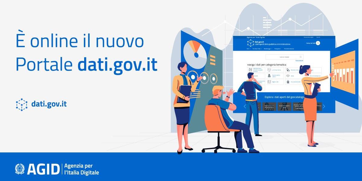 Online il nuovo portale dedicato ai dati aperti