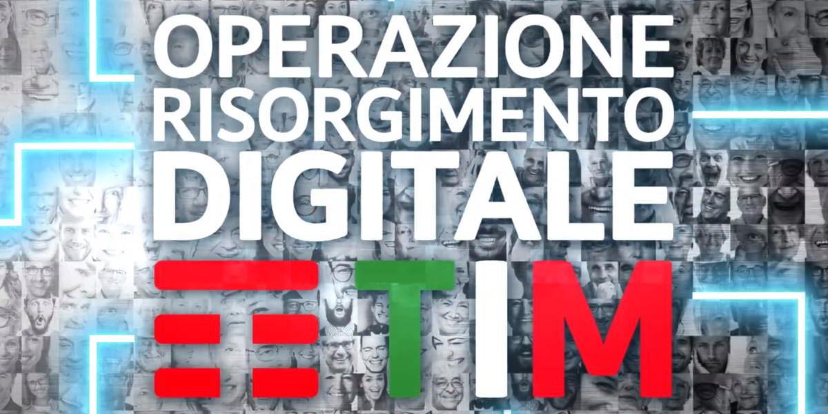 Operazione Risorgimento Digitale, TIM porta l'alfabetizzazione digitale su scala nazionale