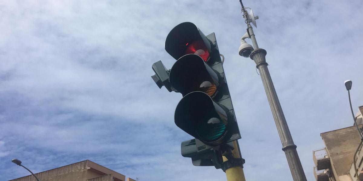 A Palermo arrivano i semafori intelligenti