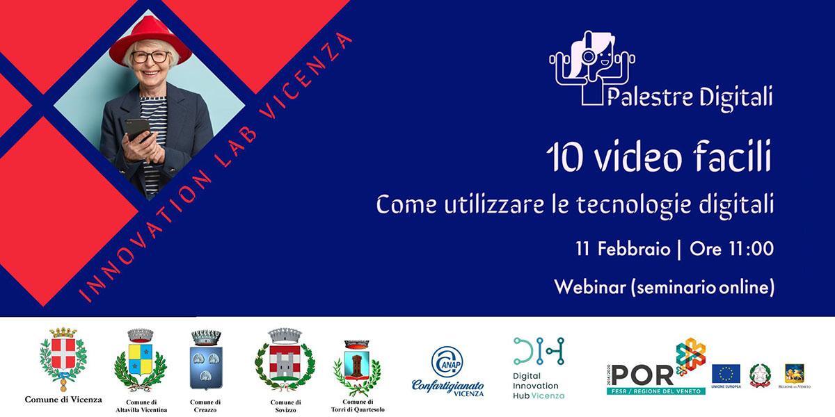 Palestre Digitali, il Comune di Vicenza punta sull'inclusione digitale degli over 65