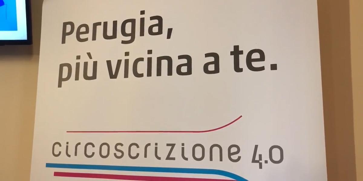 Perugia lancia Circoscrizione 4.0