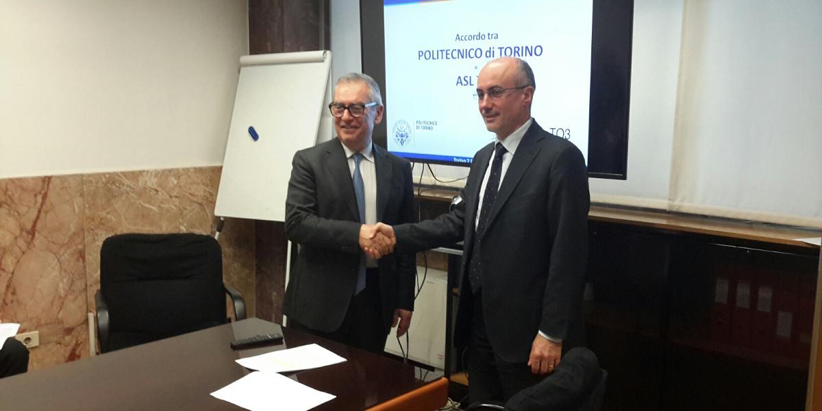 Politecnico di Torino e ASL TO3 insieme per innovare il settore sanitario