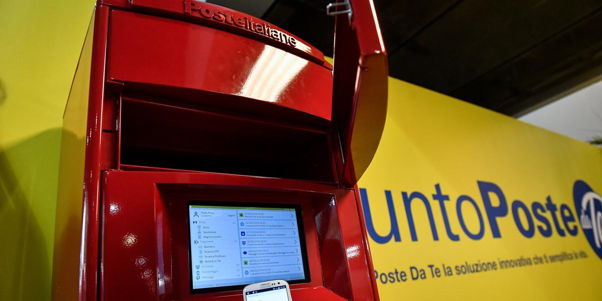 Poste Italiane lancia l'armadio tecnologico per i servizi postali a domicilio